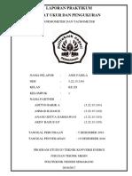 Laporan Praktikum Anemometer Dan Tachometer