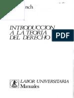 Introducción a La Teoria Del Derecho -John Finch-