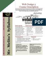 Web 2 Syllabus