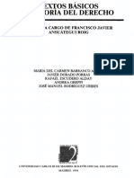 Textos Basicos de Teoria Del Derecho (Vvaa)