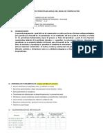 1.Programación Anual Del Area de Comunicación- Tercero