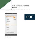 Configuración Correo POP3 en Android