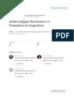 Resisten Dengue Di Argentina