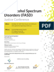 FASD Justice Conference Flier