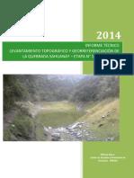 INFORME TOPOGRAFICO Quebrada Sahuanay, Abancay.pdf