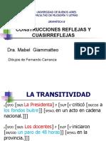 - Giammatteo 2013 # Construcciones Reflejas y Cuasirreflejas # GDC