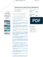 Contabilidade NF Nota Fiscal Eletronica
