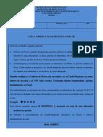 Caderno de Prova Azul Manha