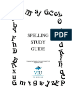Spelling Study Guide