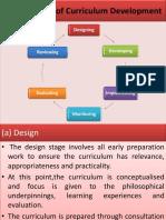 1.1.3 Process of Curriculum Development