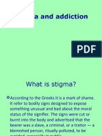 Stigma and Addiction