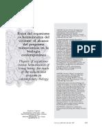 Caponi - 2007 - Física del organismo vs hermenêutica del viviente el alcance del programa reduccionista en la biología contemporánea.pdf