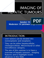Imaging Hepatic Tumours