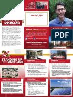 Fall 2017 Korman Brochure