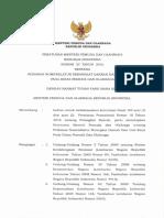 Permenpora Nomor 33 Tahun 2016 Tentang Pedoman Nomenklatur Perangkat Daerah Dan Unit Kerja Pada Dispora