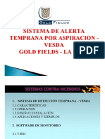 Capacitacion - Vesda Minera Gold Fields