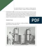 Ablandamiento Del Agua Maquinarias Partes Internas y Externa Dimensiones y Clases de Maquinas