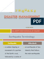 Disaster Management Earthquake