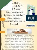 DECRETO LEGISLATIO N° 1257 Nuevo Fraccionamiento Especial