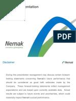 Nemak Investor Presentation March 2017