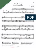 Gurlitt Cradle Song, Op .117 No .17