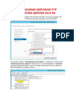 Configurar Servidor Ftp Windows Server 2012 r2
