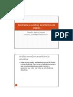 Leandro Zanitelli - Contratos e análise econômica do Direito - Curso L&E 2010