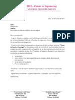 Carta Colegio