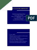 Luciano Timm - Direito e Economia e Arbitragem - Curso L&E 2010