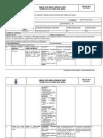 Formato de Planificación Curricular Anual Gestion de Datos