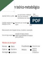 Abordagem teórico-metodológica