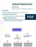 Basic Analog Electronics