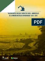 Centro Humboldt-Impacto de Minería Metálica-Nicaragua 2015