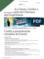 IPTAN - Semana Das Engenharias 2017