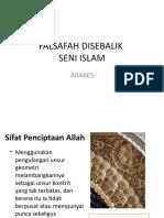 FALSAFAH DISEBALIK SENI ISLAM