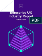 Enterprise UX Industry Report 2017–2018