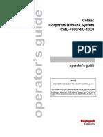 Mcdu Operators Guide