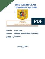 Carrito Solar Informe