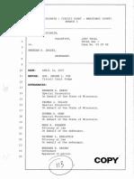 Brendan Dassey Trial Transcript 2007