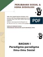 [01] Paradigma Sosiologi & Peta Ansos