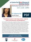 2017.09.20 - CBR Seminar_Dr. Chatherine Poh