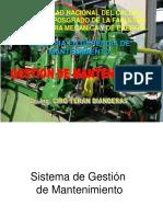 2.1 GM Sistema de Gestion 2 A