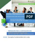 Microsoft 98 369 Guía de Estudio