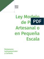 Ley Modelo Pesca Artesanal