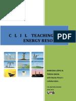 Clil Lesson Energy