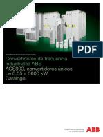 Catálogo ACS800