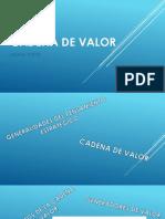 Cadena de Valor(1)