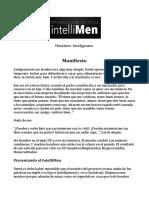 Manifiesto IntelliMen 1