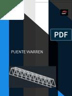 Analisis de Esfuerzos (Puente Warren )