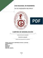Formato Informe 1 Campaña 17-2